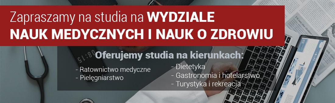 Oferta studiów na WNMZ